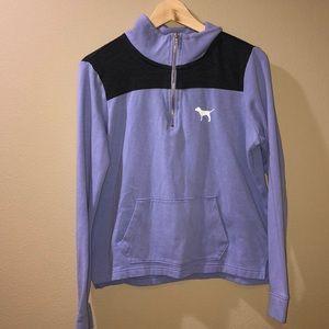 PINK • 1/4 Zip Jacket